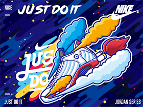 JUST DO IT BY 周同学